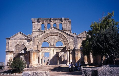 christian architecture in syria