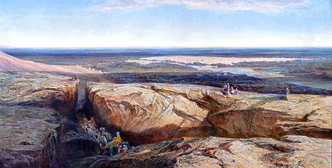 Damascus (1861) by Edward Lear