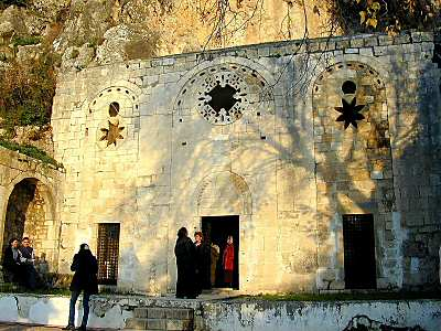 St Peter's Grotto Church in Antioch