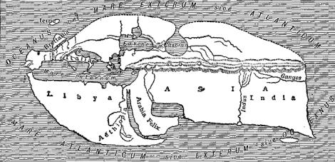 Strabos Map