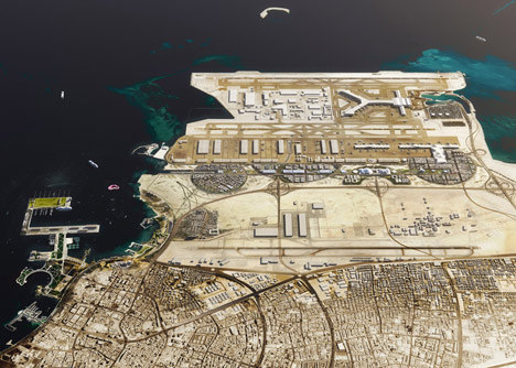 dezeen_OMA-chosen-to-masterplan-Airport-City-in-Doha_2