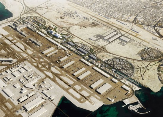 dezeen_OMA-chosen-to-masterplan-Airport-City-in-Doha_ss_1